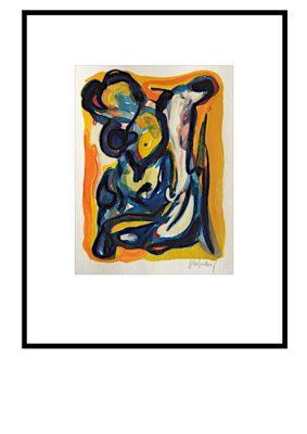 Peter Lundberg Akvarel - 01