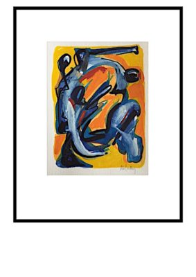 Peter Lundberg Akvarel - 08