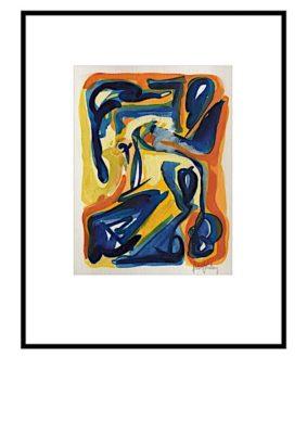 Peter Lundberg Akvarel - 10