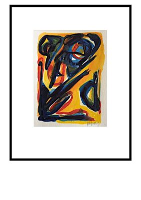Peter Lundberg Akvarel - 12
