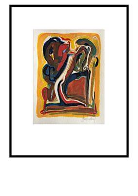 Peter Lundberg Akvarel - 17
