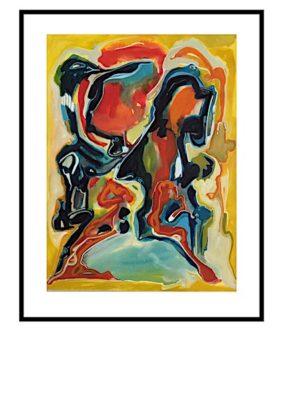 Peter Lundberg Akvarel - 18