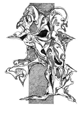 Peter Lundberg tegning