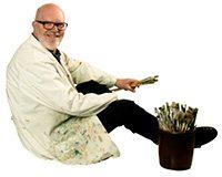 Peter som kunstner