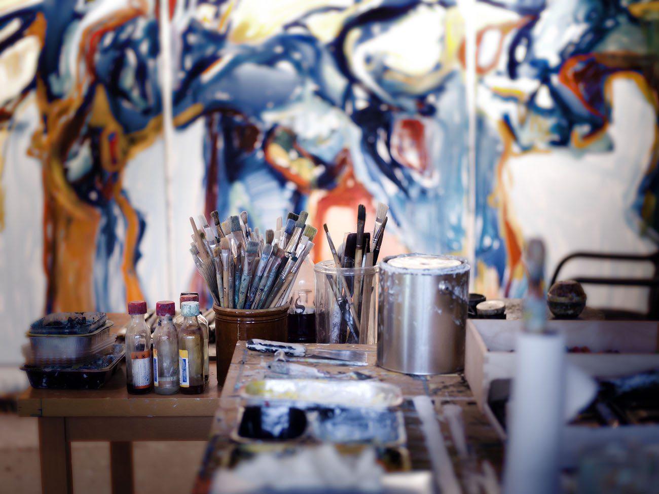Peter Lundbergs atelier