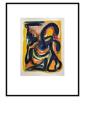 Peter Lundberg Akvarel - 07