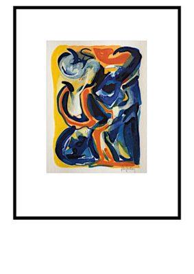 Peter Lundberg Akvarel - 11