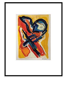 Peter Lundberg Akvarel - 14