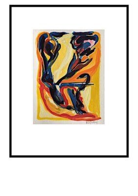 Peter Lundberg Akvarel - 15