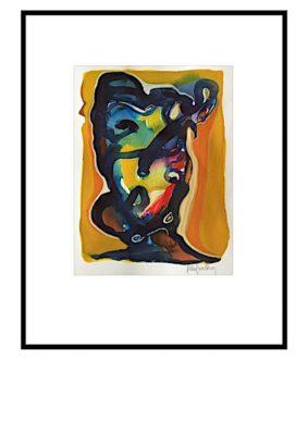 Peter Lundberg Akvarel - 16