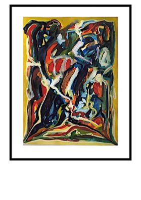 Peter Lundberg Akvarel - 19