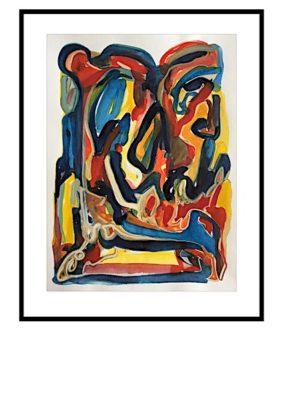 Peter Lundberg Akvarel - 21